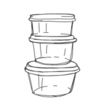 Clear PLA Containers & Lids - EcoPack - South Africa