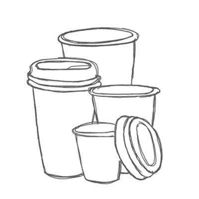 Coffee Cups & Lids - EcoPack - South Africa