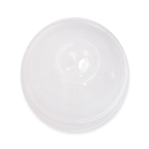 360ml, 500ml Dome PLA Lid with Straw Slot