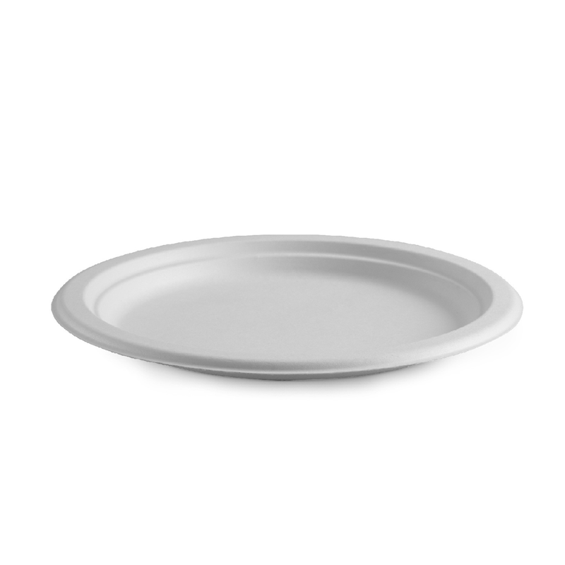 18cm Round Bagasse Plate