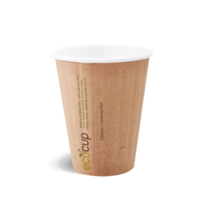 250ml Doube Wall Coffee Cup - Kraft