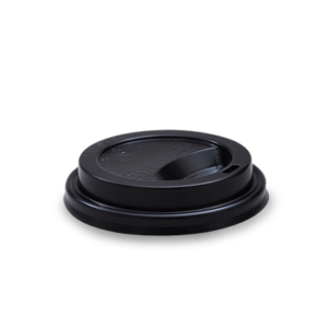350ml, 480ml Non-Compostable Lid Black