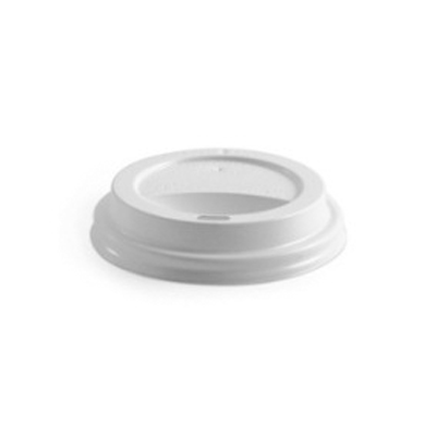 350ml, 480ml Non Compostable Lid - White