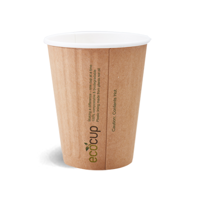 350ml Doube Wall Coffee Cup - Kraft
