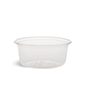 360ml PLA Clear Round Container