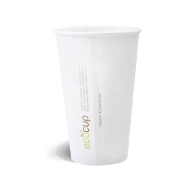 480ml Coffee Cup - White