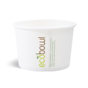480ml Soup,Salad Bowl - EcoBowl -White