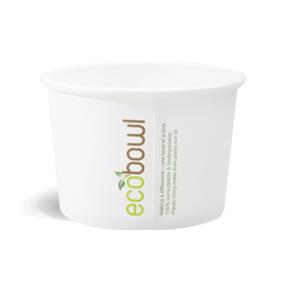 480ml Soup,Salad Bowl - EcoBowl -White