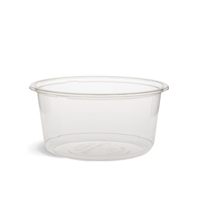 500ml Clear PLA Round Container