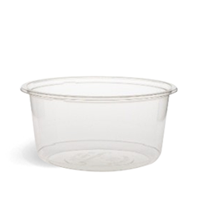 700ml Clear PLA Round Container