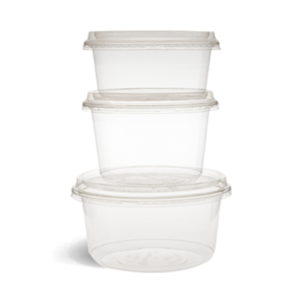 Clear Lid for 360ml and 500ml PLA Container