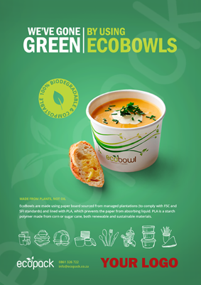 Marketing Support - A4 - EcoBowls