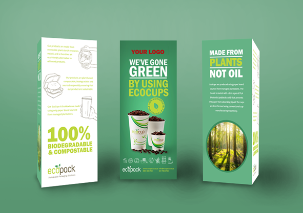 Marketing Support - Mockup Table Talker - EcoCups