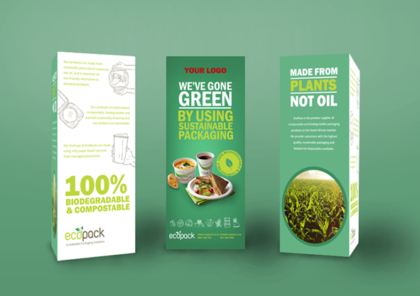 Marketing Support - Mockup Table Talker - Gone Green