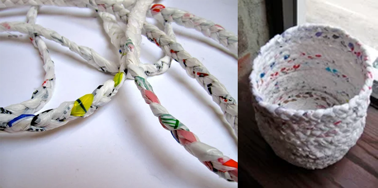 6 useful hings you can make with plastic bags