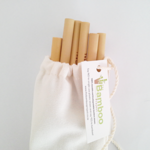 Bamboo Straw Set - 10 Pack (3)