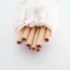 Bamboo Straw Set - 10 Pack (4)