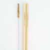 Bamboo Straw Set - 2 Pack (3)